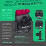 Promoção Mini Câmeras Intelbras
