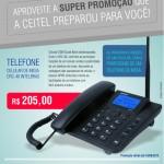 Promoção Telefone Celular de Mesa Intelbras